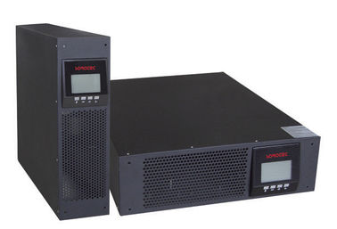 Blue LCD Intelligent Rack Mount UPS For Computer Network System