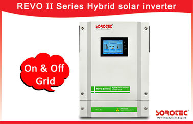 صفحه نمایش لمسی Solar On Grid Off Grid Hybrid Inverter با محدوده MPPT 120-450VDC